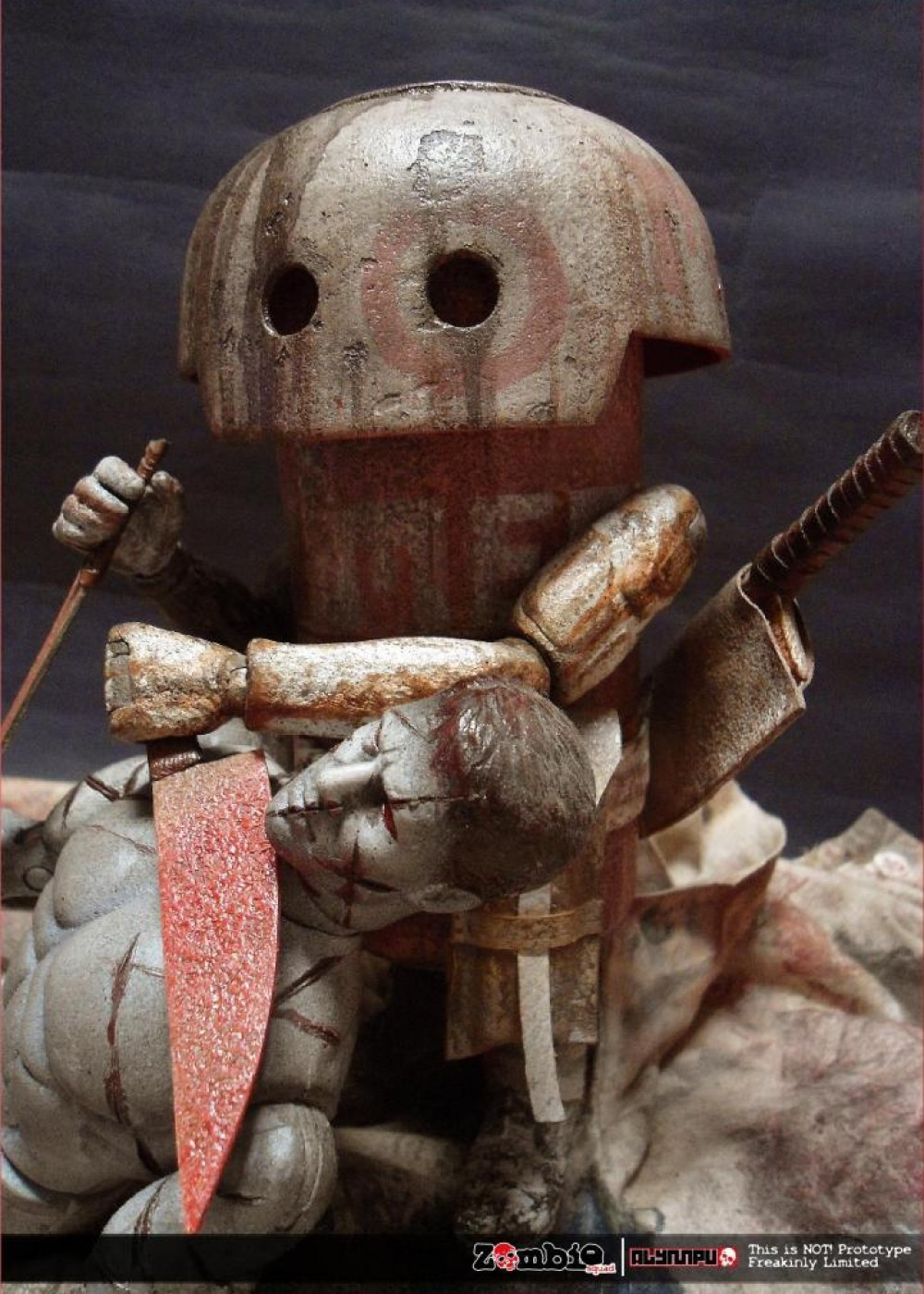 ZOMBIE SQUAD MUSHROOM MEAT ThreeA by ALYMPU action pose
