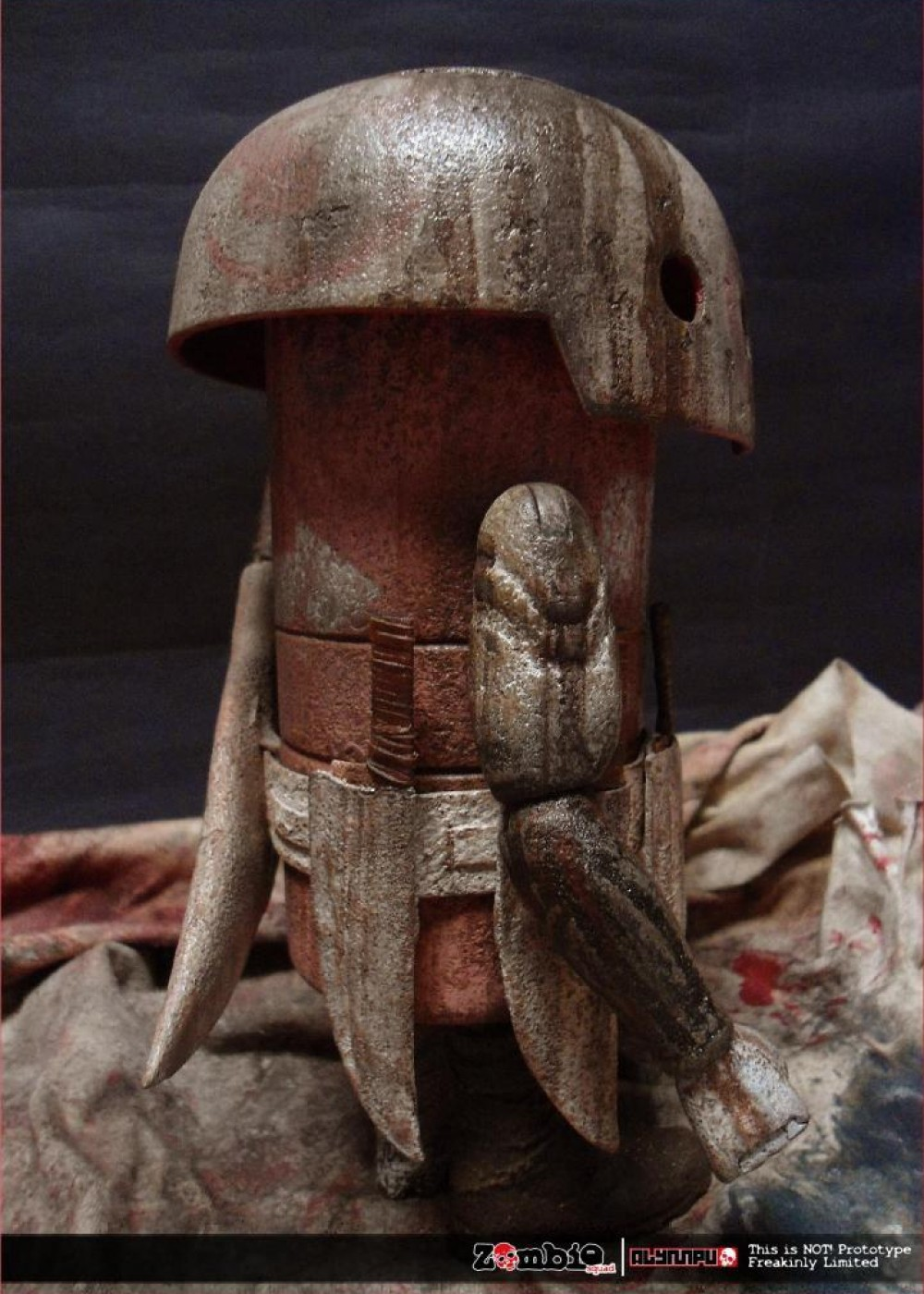 ZOMBIE SQUAD MUSHROOM MEAT ThreeA by ALYMPU side