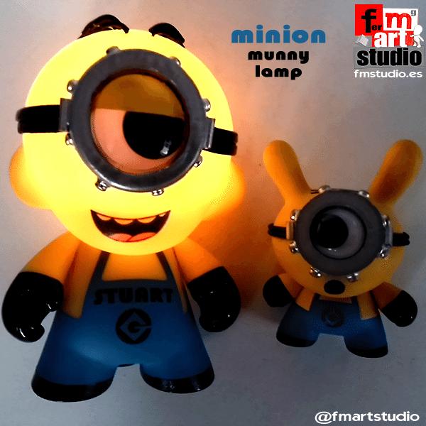 CRAZY MINIONS! by FM Studio lights on