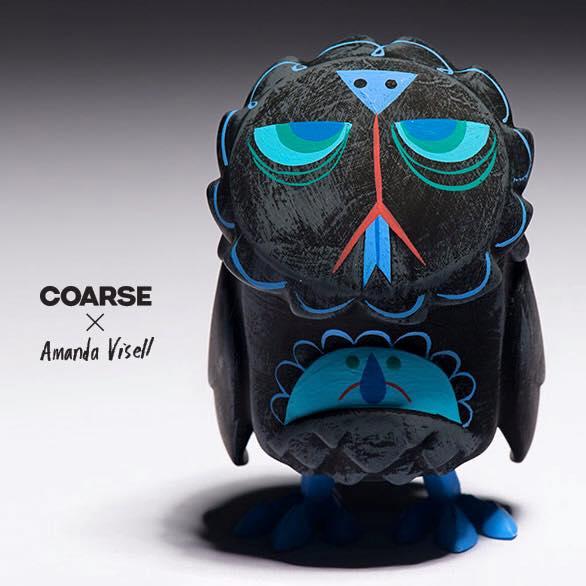 Coarse Omen Amanda Visell vinyl designer toy