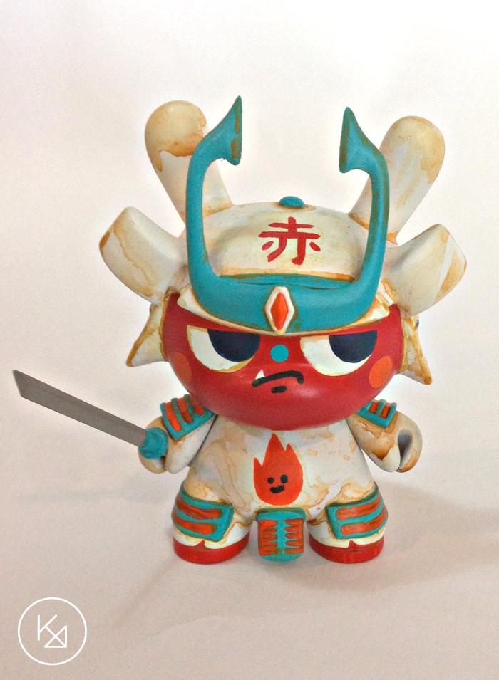 Kong Andri REd dunny-samurai-1