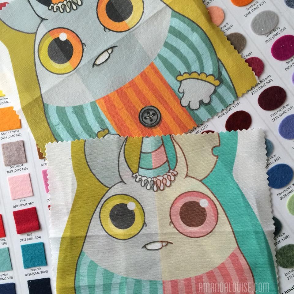Amanda Louise Spayd fabric project