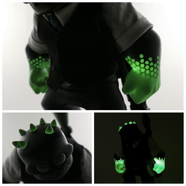 Radioactive Jack by Fiona Ng glow