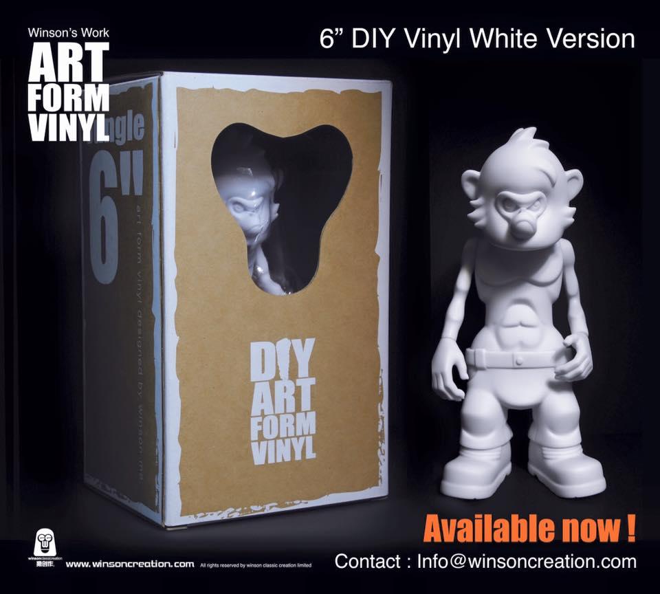 Winson Ma DIY art From Vinyl packaging