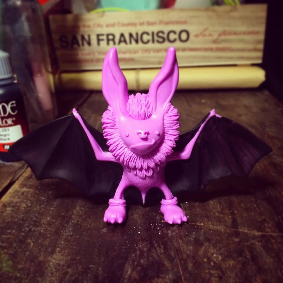 fanny kao Fufufanny Romeo purple bat WIP