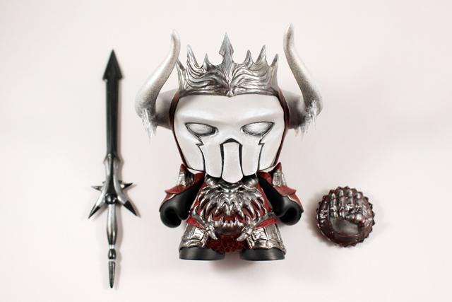 Ahgnar of the North by Fiona Ng Kidrobot Munny 2015 Guild wars 2 lay out