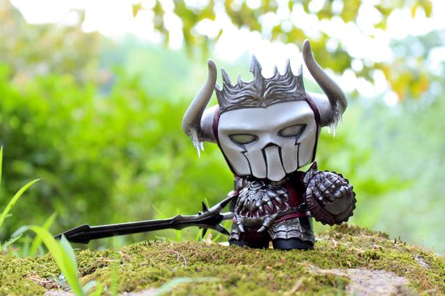 Ahgnar of the North by Fiona Ng Kidrobot Munny 2015 Guild wars 2