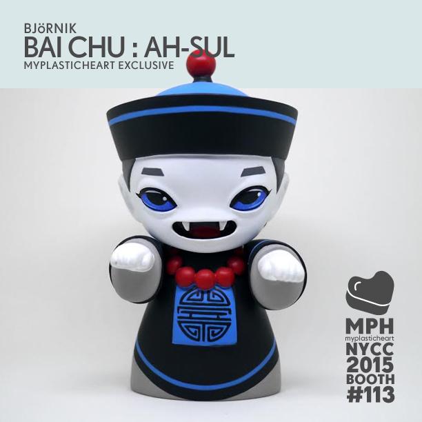 BAI CHU AH SUL NYCC2015 by BJORNIK x MyPlasticHeart
