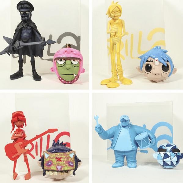 Funkmuffins WAR heads by Will Rimel  Kidrobot contest