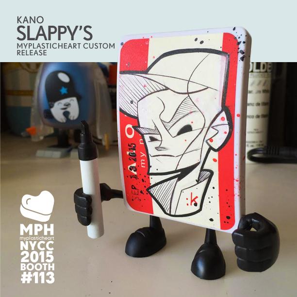 Kano SLappys My PlasticHeart custom NYCC 2015