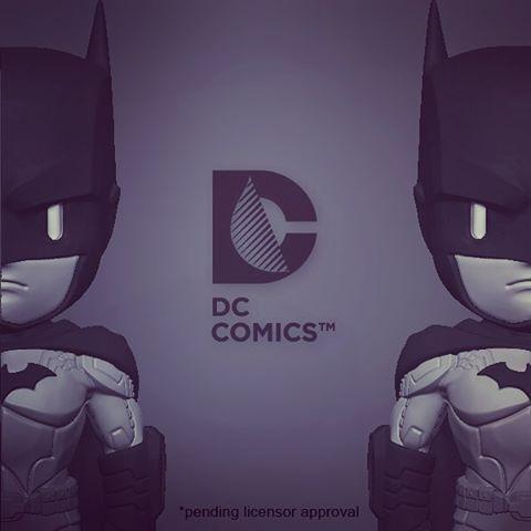 Mighty Jaxx DC comic Batman new52 STGCC 2015