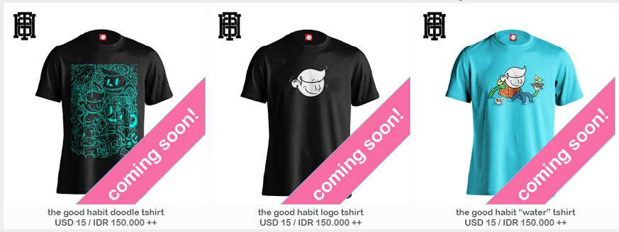 Thegoodhabit Tshirts