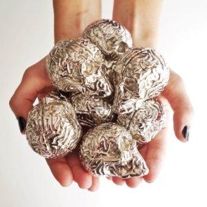 Emilio Garcia Chrome Skull Brains