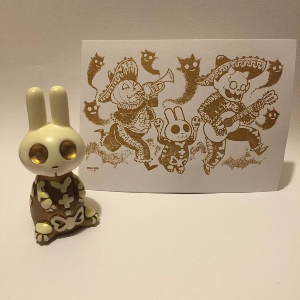 Ben Seto x Woot Bear Exclusive Skullbunny