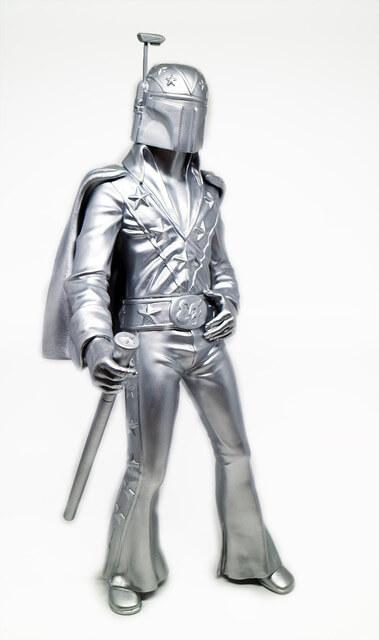 Evel Fett - Silver Edition - by 3dRetro