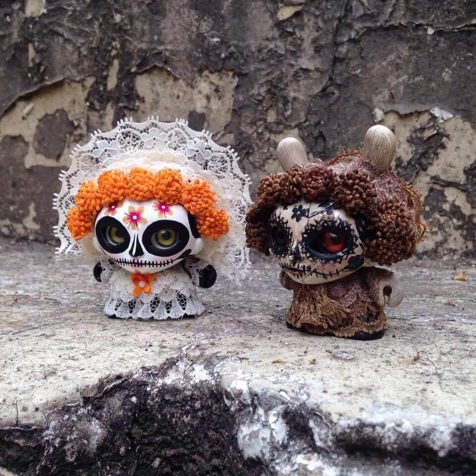GUELAGUETZA Special edition Día de Muertos by Jump Jumper Ant Kidrobot Dunny