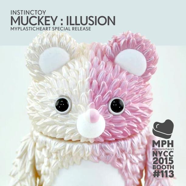 Instinctoy Muckey Illusion Myplastic heart  NYCC 2015