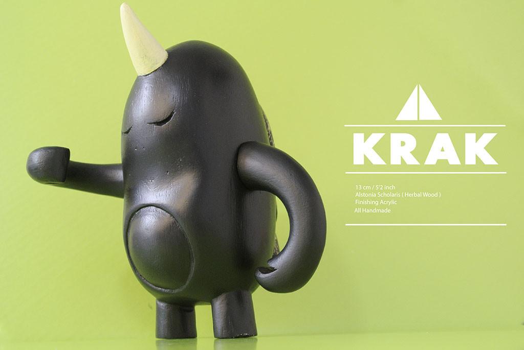 KRAK by Mario Bosse black