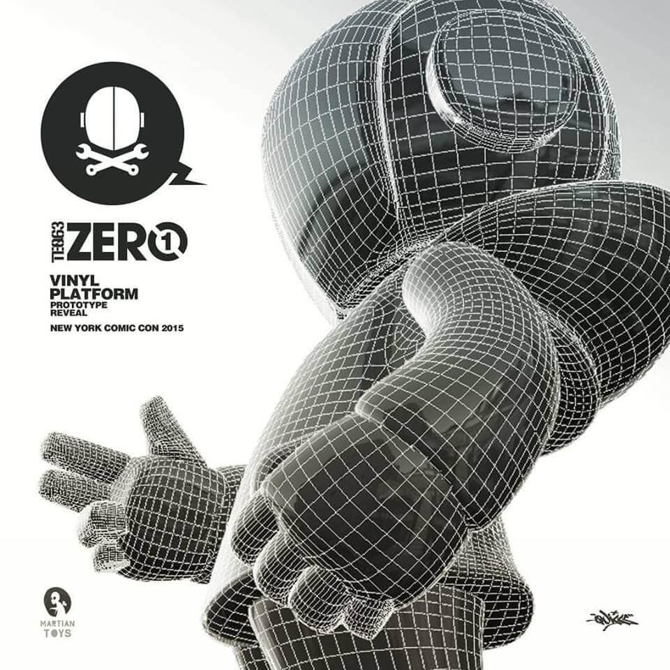 TEQ63- Zero1 by Quiccs x Martian Toys