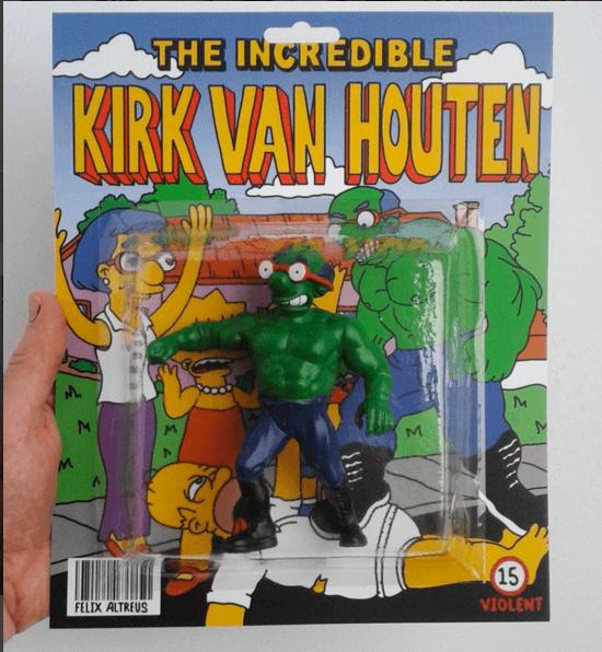 THE INCREDIBLE KIRK VAN HOUTEN by Herrblykke full