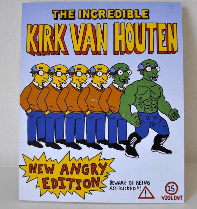 THE INCREDIBLE KIRK VAN HOUTEN by Herrblykke