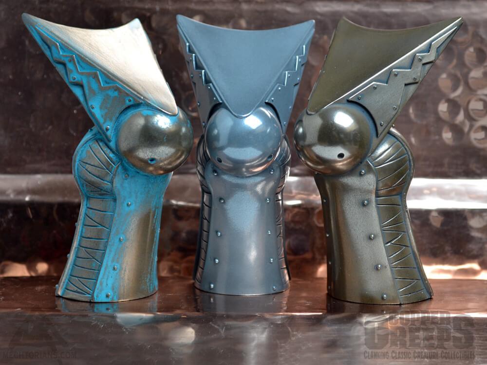 Three Brides Metal copper creeps by Doktor A