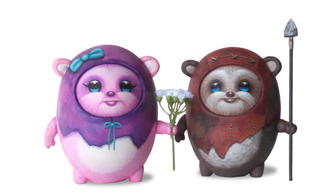 ewok Daniel Fleres x Steve Ferrera woot bear group star wars