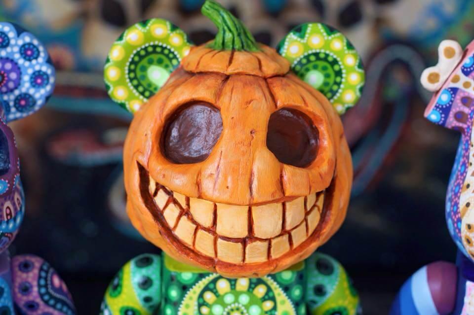 Bearbrick 400 percent pumpkin by MP Gautheron