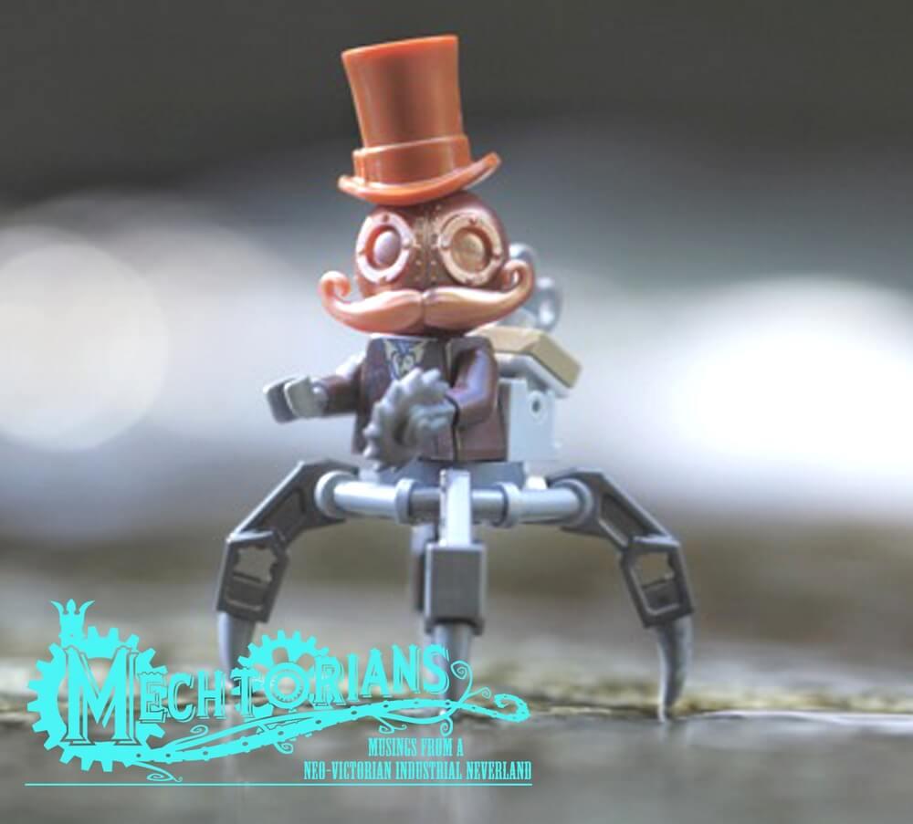 COPPER EDITION MECHTORIAN crazybricks doktor A lego minifig