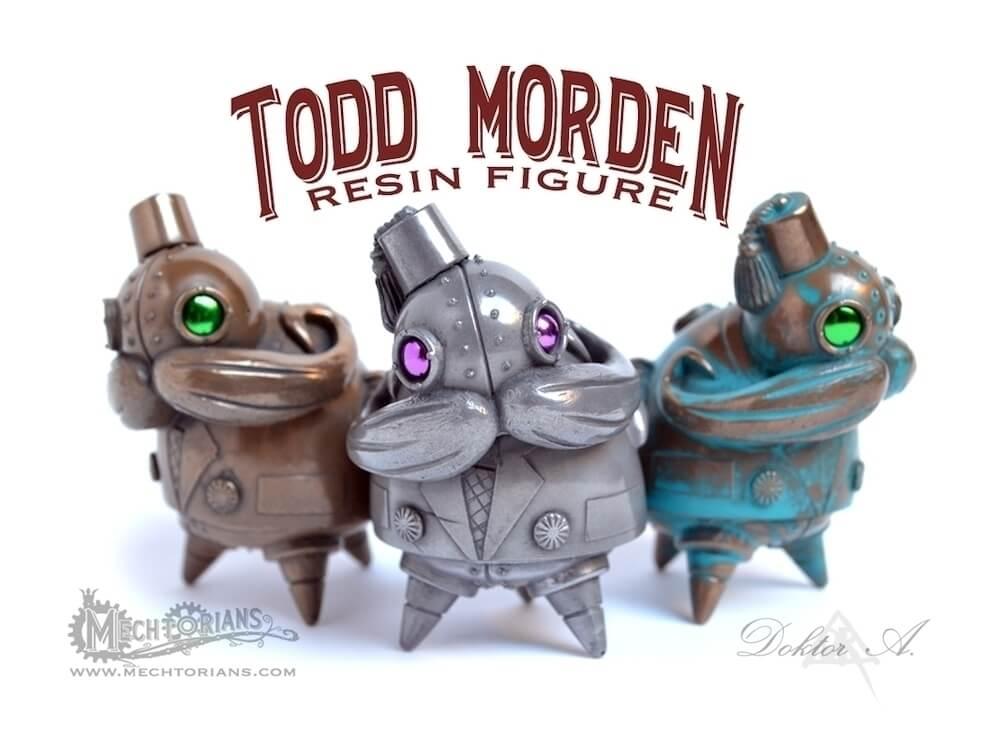 Doktor A Todd Morden resin figure Dcon 2015
