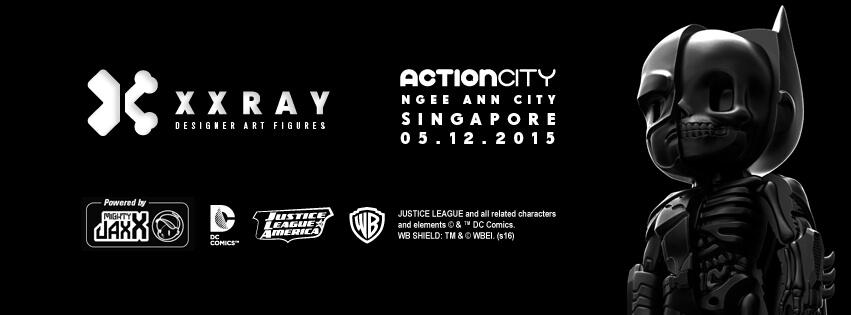 Justice league Mighty Jaxx x Jason freeny XXRAY Batman DC comics