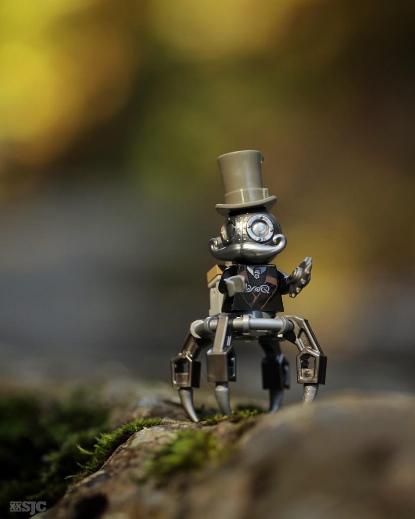Mega Minifigure MECHTORIAN by CrazyBricks x Doktor A shelly corbett silver