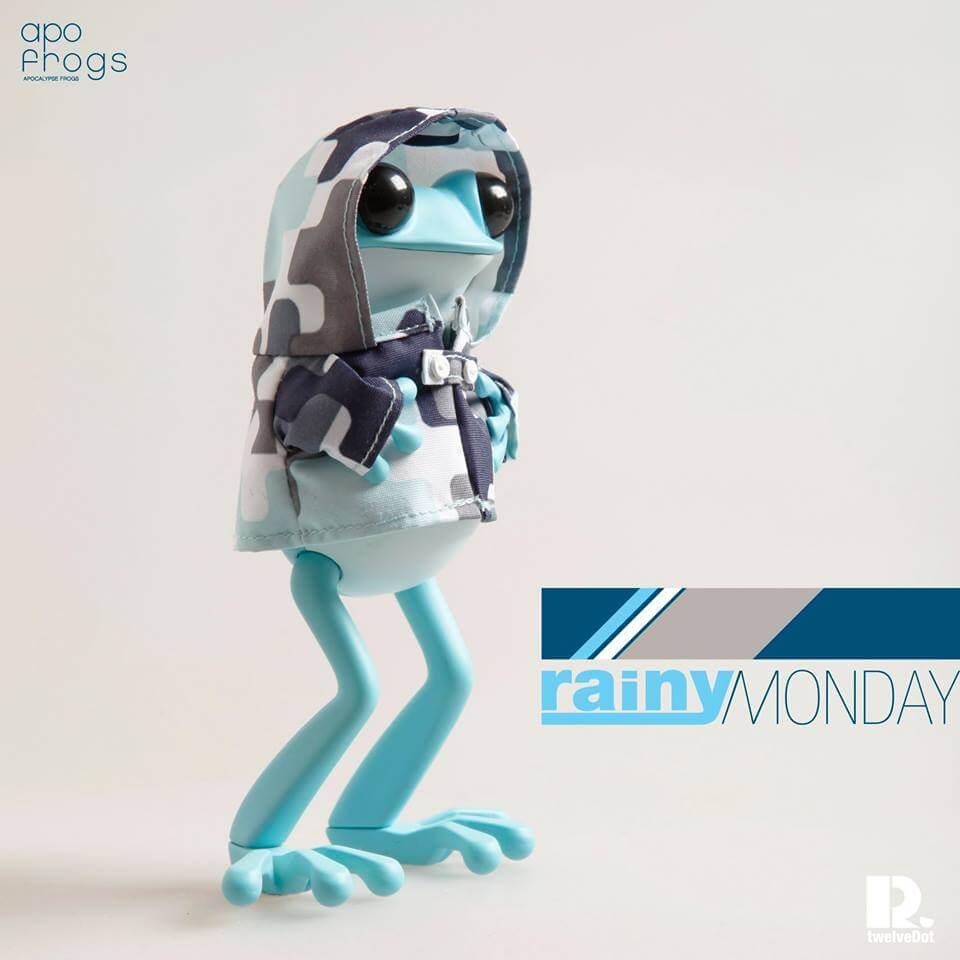 Rainy Monday APO Frogs by Twelvedot DTA 2015