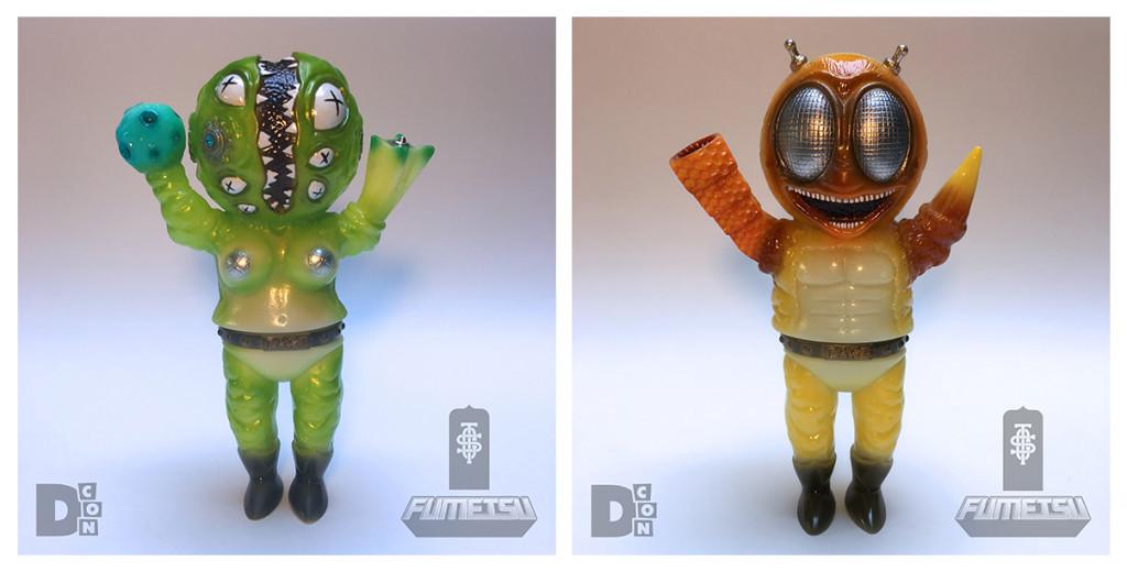 lulubell toys x Cop a Squat Toys Erewhon NeumannDcon SetA