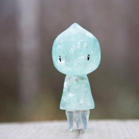 Blue Glitter Jo by KiiroToys