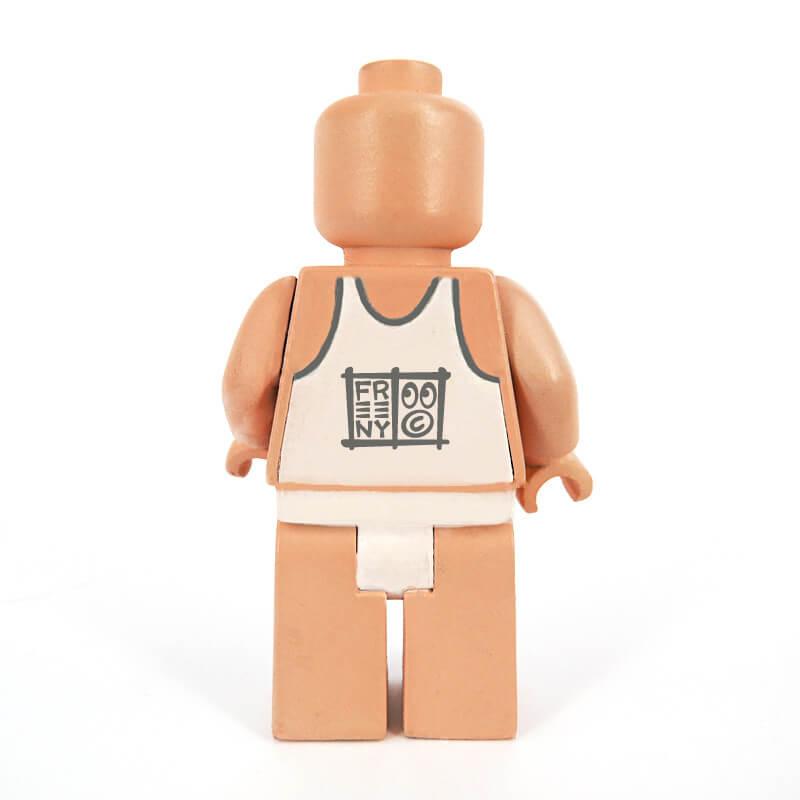 Jason Freeny x Mighty Jaxx - 3 Micro anatomic Schematic back lego