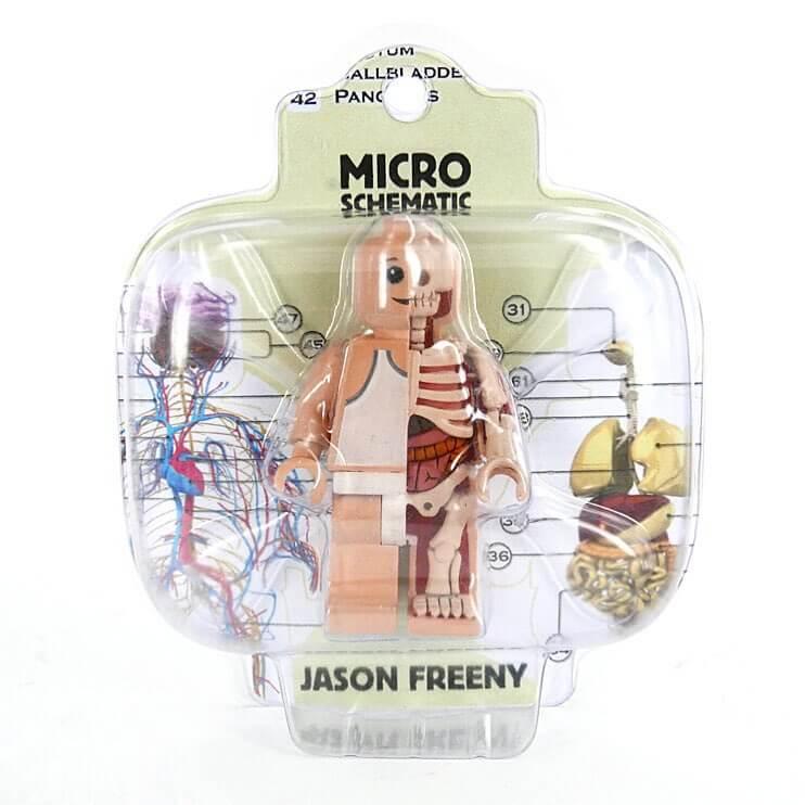 Micro Schematic by Jason Freeny x Mighty Jaxx