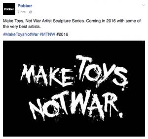 Pobber Toys Facebook Status