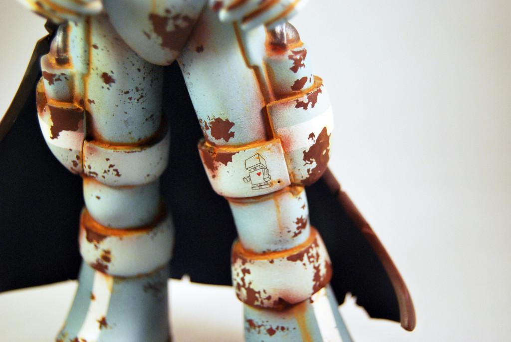 Skullslinger by HX STUDIO x HUCK GEE legs