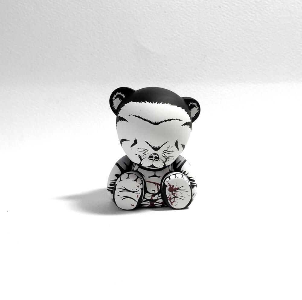 The Seven Panda Samurai custom Series by Jon Paul Kaiser