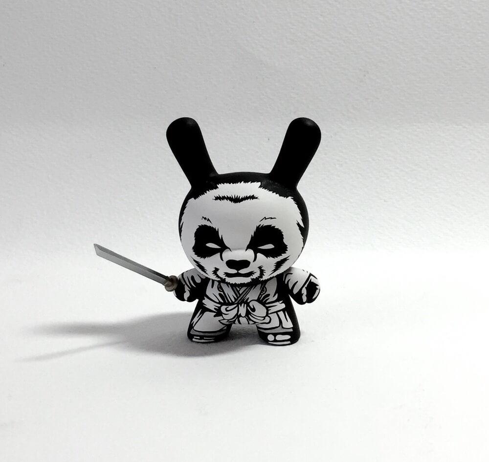 The Seven Panda Samurai custom Series by Jon Paul Kaiser 3