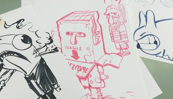 kidrobotsketches