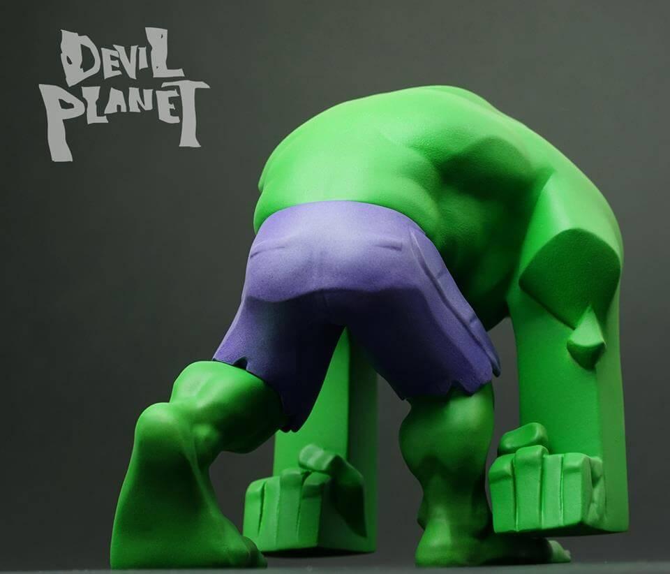 Devil Planet HULK by Kang Goon Minjung kang x TJ Cha green HULK