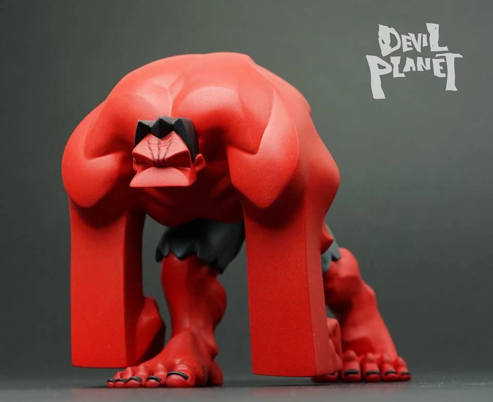 Devil Planet HULK by Kang Goon Minjung kang x TJ Cha redHULK