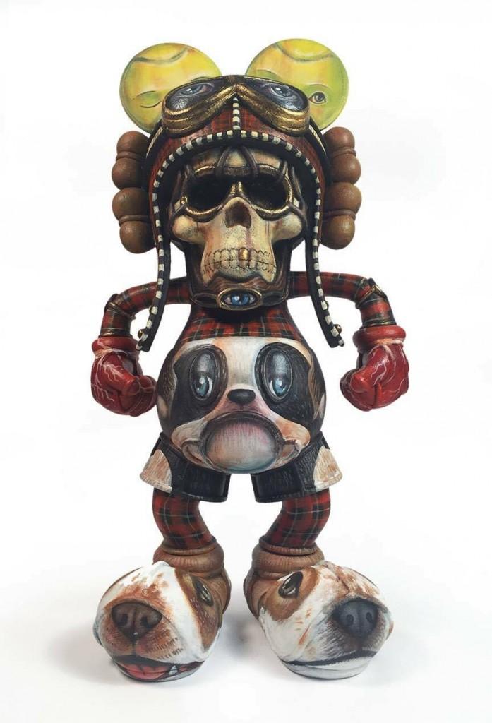 Dog Catcher By 64Colors Laura colors Deathead David Flores front