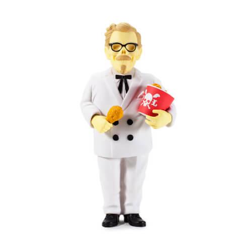 General Tso Nightmare by Frank Kozik x Kidrobot white