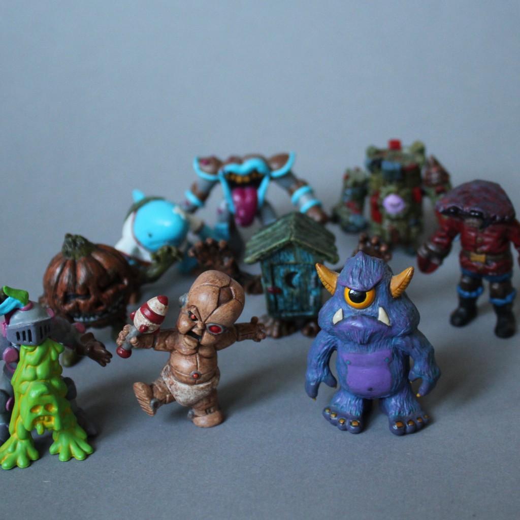 Kosrobot Custom October Toys OMFG Minifigures