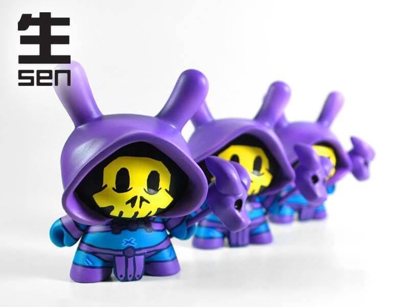 Skeletor Dunny by SEN customs kidrbot