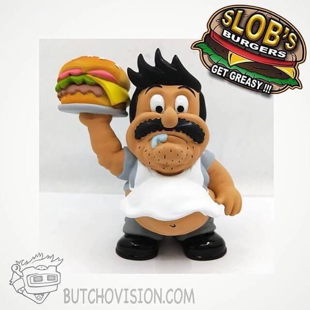 Slobs burgers by Butch Von Drreaux