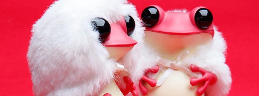 Fuzzy Valentine By Twelvedot banner